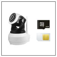 Kamera med SD- & SIM-kort