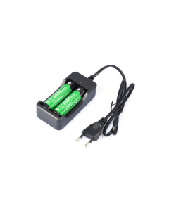 Batteri oplader til 18650 (batteri medfølger ikke)