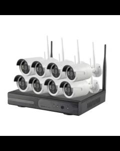 8CH Kamera System - 960p Wi-Fi