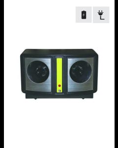 Ultralydskræmmer til batteri eller 230V